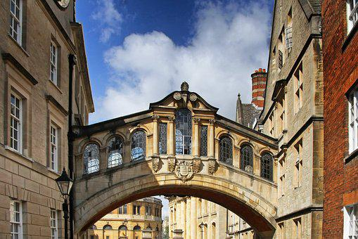 Pont Des Soupirs, Oxford, Angleterre