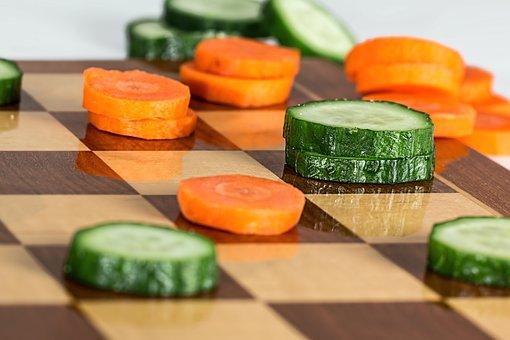 En Bonne Santé, Salades, Aliments