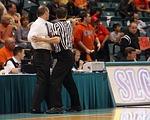 basketball, coach, referee