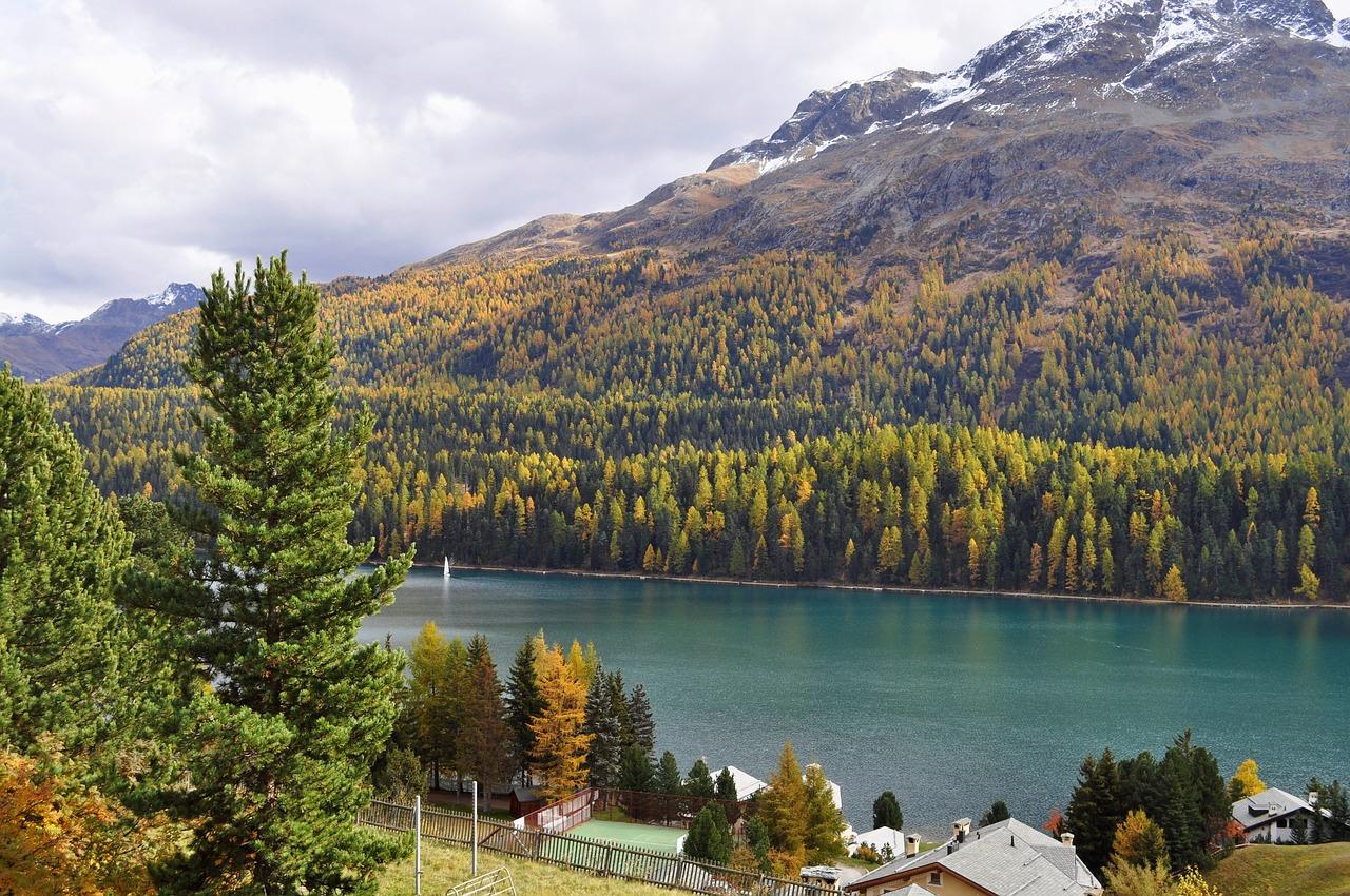 St Moritz Switzerland Thụy Sĩ Hồ - Ảnh miễn phí trên Pixabay