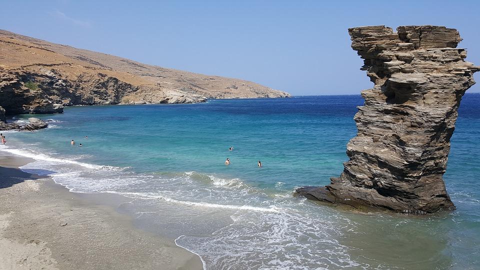 Yaros Island in Greece