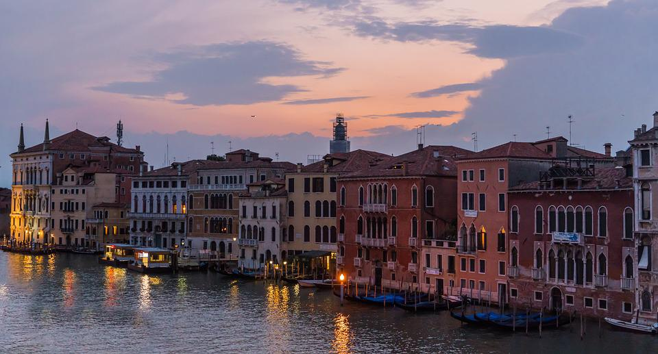 Venice Italy Architecture free photo: venice, italy, architecture, sunset - free image on