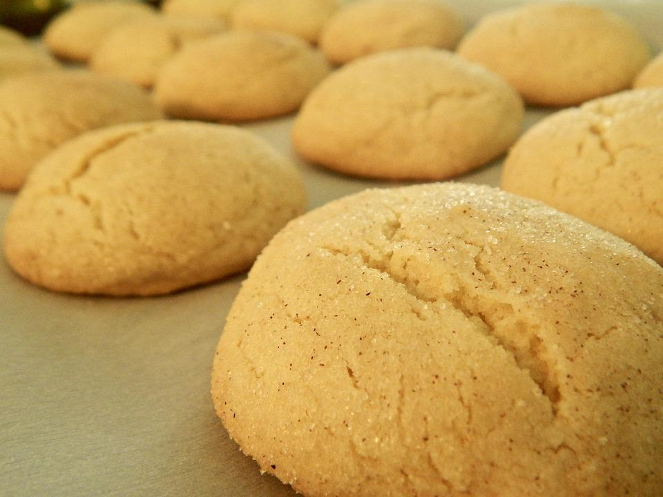 Cookies, Snickerdoodle, Golden Brown, Delicious