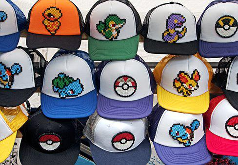 Pokemon, Hat, Go, Pokemon Go, Baseball
