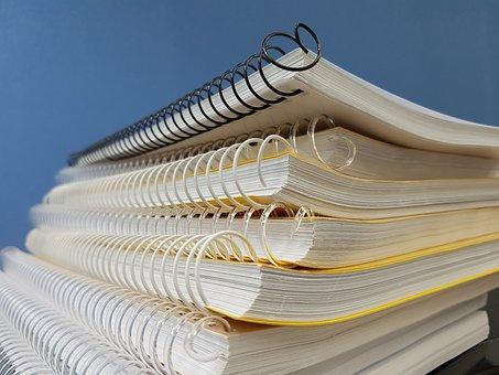 Spring, School, Study, Line, Paper
