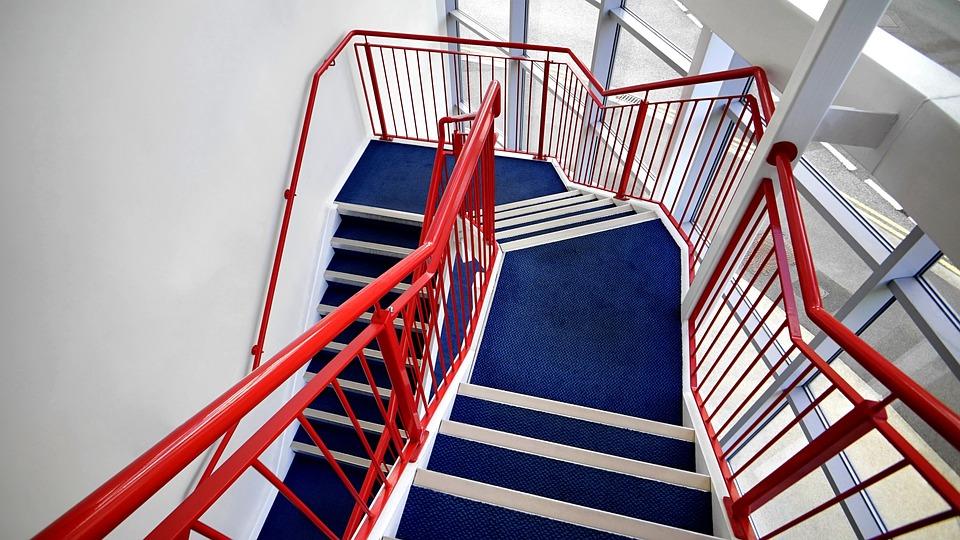 Treppe Treppenhaus Bau Modern Design Architektur