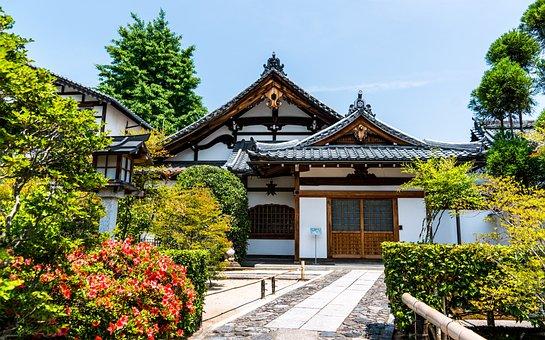 日本, 京都, 嵐山, アジア, 旅行, 寺, アーキテクチャ, 文化, 観光