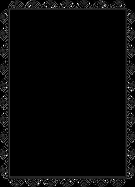 ภาพประกอบฟรี สีดำ ลูกไม้ กรอบ สีเทา ภาพฟรีที่