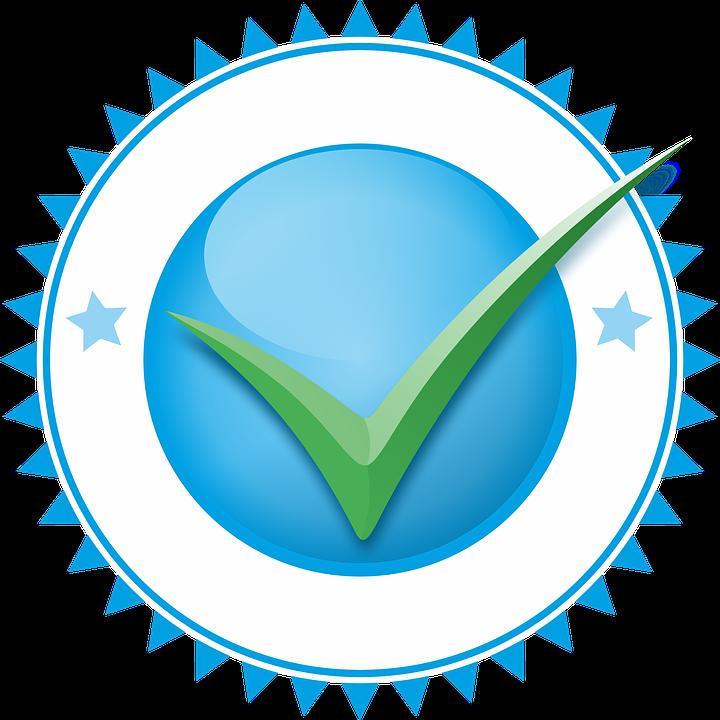 validation positive logo free image on pixabay