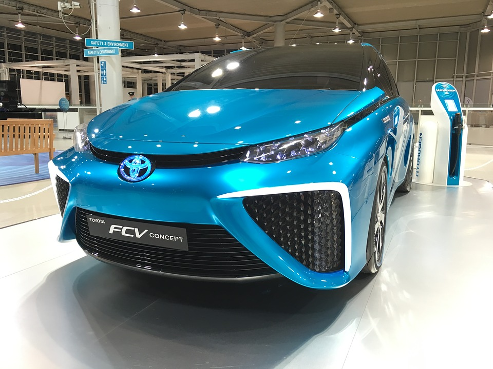Toyota, Mirai, Ecv, Eco-Friendly hydrogen car