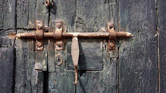 Lock Door Old 183 Free Photo On Pixabay