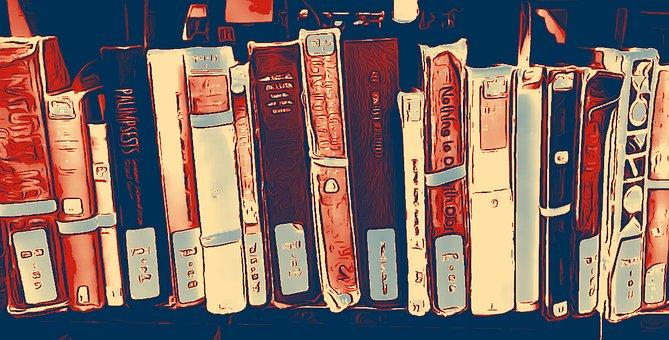 Livros Prateleira Biblioteca Estante De Li