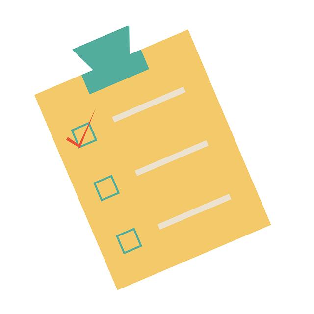 チェックリスト 計画 クリップボード to do pixabayの無料画像