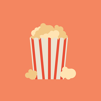Popcorn Movie Cinema Film Snack Theat