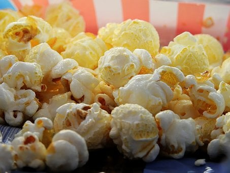 Popcorn Corn Cinema Snack Sweet Food