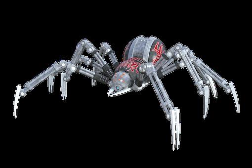 Spider Arachnid Animal Robot Artificial Ar