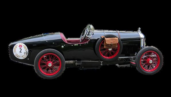 Oldtimer, Automotive, Amilcar, Isolated