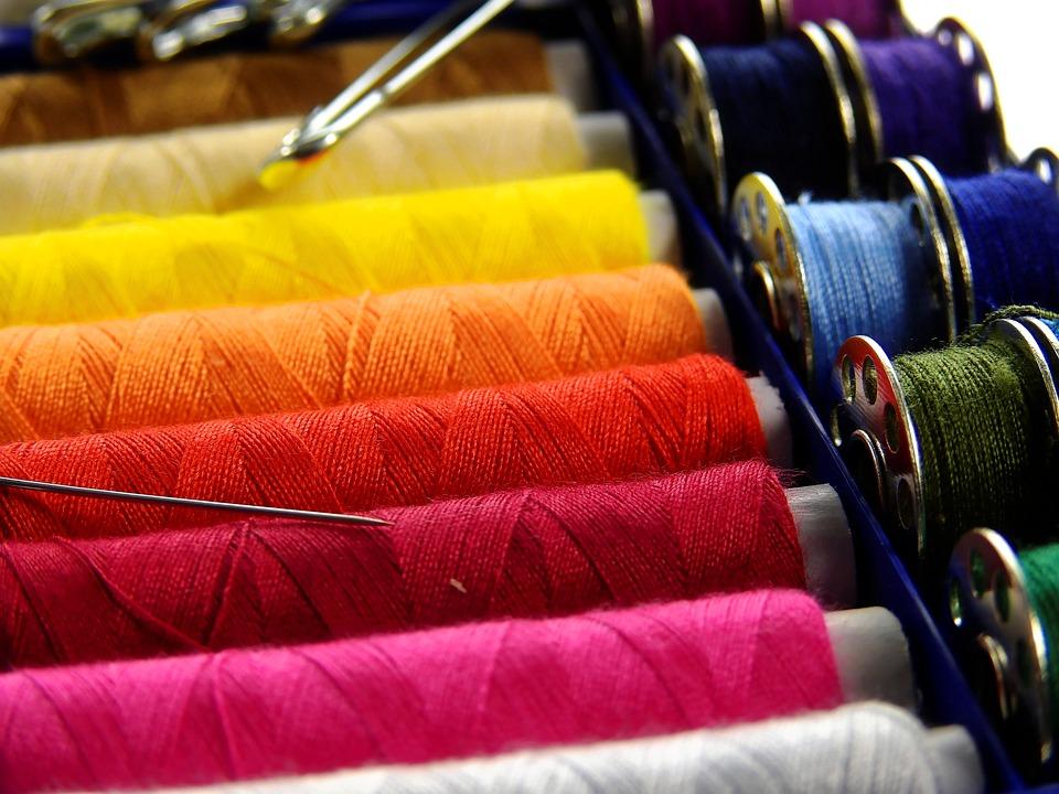 Fire, Thread, Coase, Firul Bobinei, Colorat