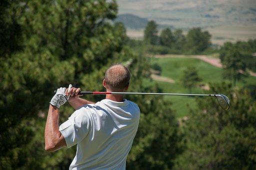 高尔夫球手, 高尔夫, 运动, 当然, 娱乐