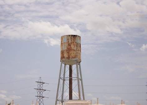 Industry, Water Tower, Industrial, Tower