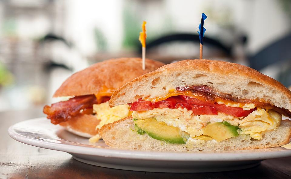 Egg, Sandwich, Food, Bread, Meal, Snack, Breakfast
