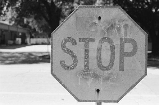 Stop, Sign, Stop Sign, Road, Traffic