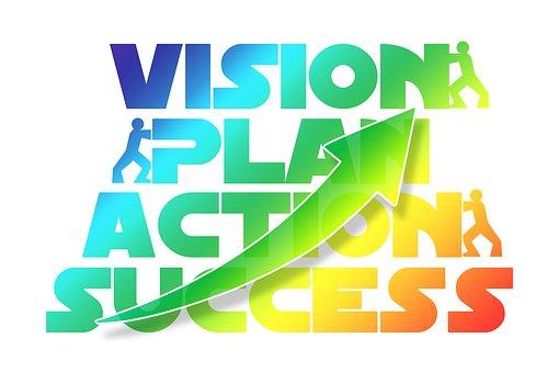 Plan, Action, Success, Concept, Economy