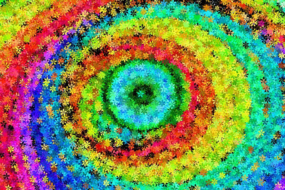Colorido, Color, Espiral, Círculo, Prisma, Cromática
