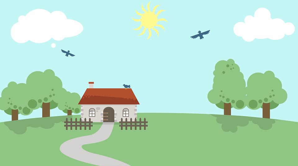 Landscape Illustration Vector Free: Landscape Vector · Free Image On Pixabay