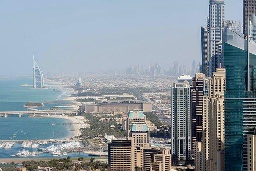 Dubai, Budynku, Wieża, Nieruchomości