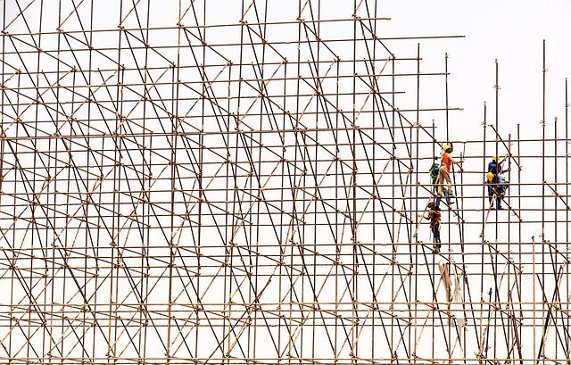 Scaffolding Workers Construction 183 Free Photo On Pixabay
