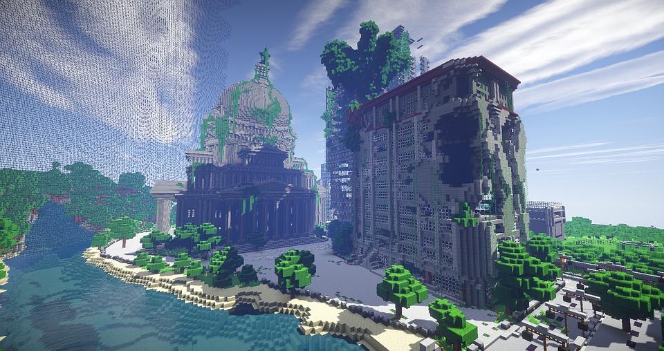 Free illustration Minecraft Surival Games 2 Map Free Image on