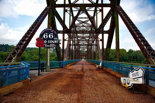 Chain Of Rocks Bridge, Missouri