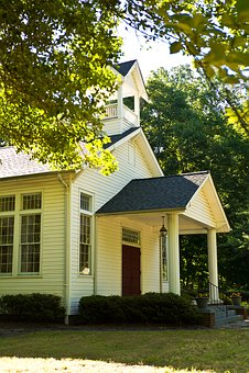 Country, Baptist, Church, Rural