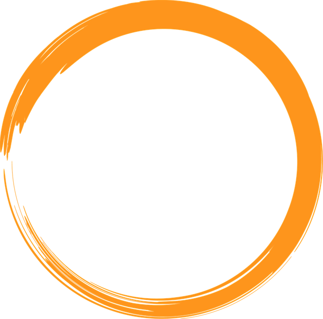 orange circle logo  u00b7 free image on pixabay