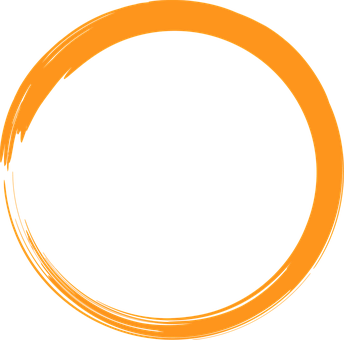 Orange, Circle, Logo, Round, Element