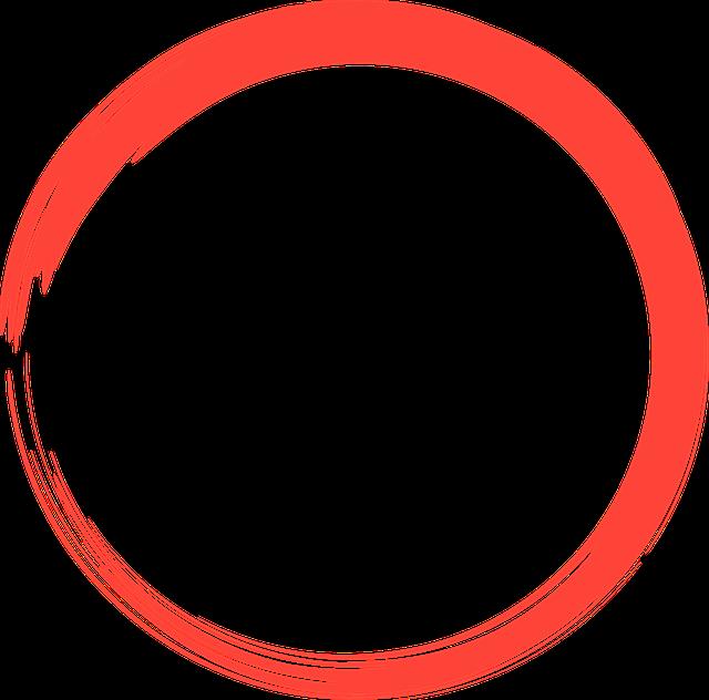 rot kreis logo  u00b7 kostenloses bild auf pixabay