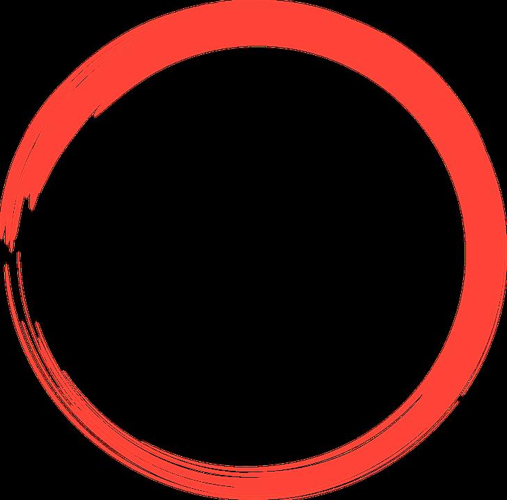 Line Art Logo Maker : Kostenlose illustration rot kreis logo runde element