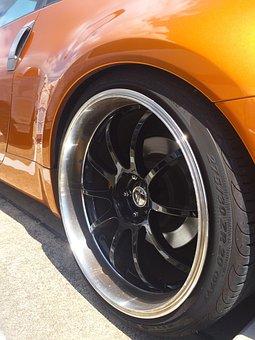 Wheel, Car, Tire, Aluminum Alloy