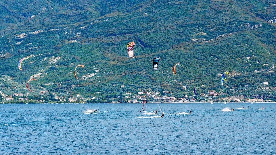 Kite Surfen, Watersport, Kitesurfer, Sport, Wind