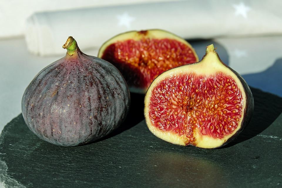 Feigen, Obst, Echte Feige, Früchte, Reif, Süß, Lecker