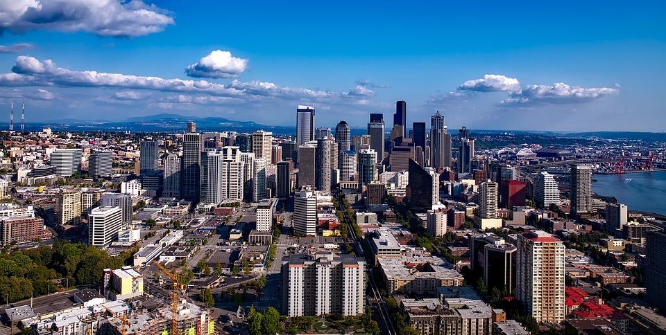 Sun City West Az >> Seattle Washington City · Free photo on Pixabay