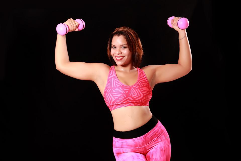 Women, Figure, Athletic, Girl, Sports, Weight Training