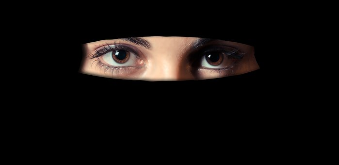 The, Niqab, Religion, Woman, Muslim