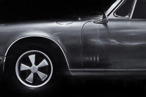 Auto, Car, Porsche Targa, Porsche Museum