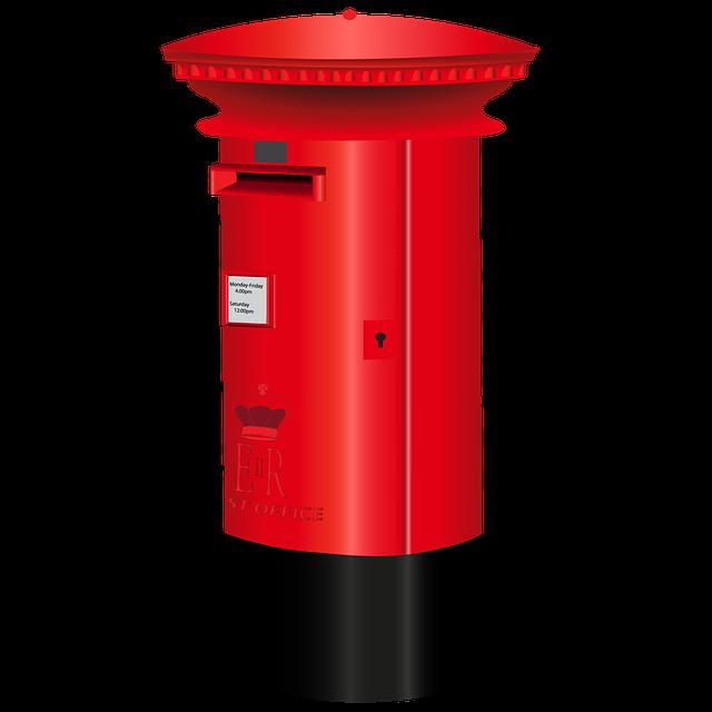 letterbox british red 183 free image on pixabay