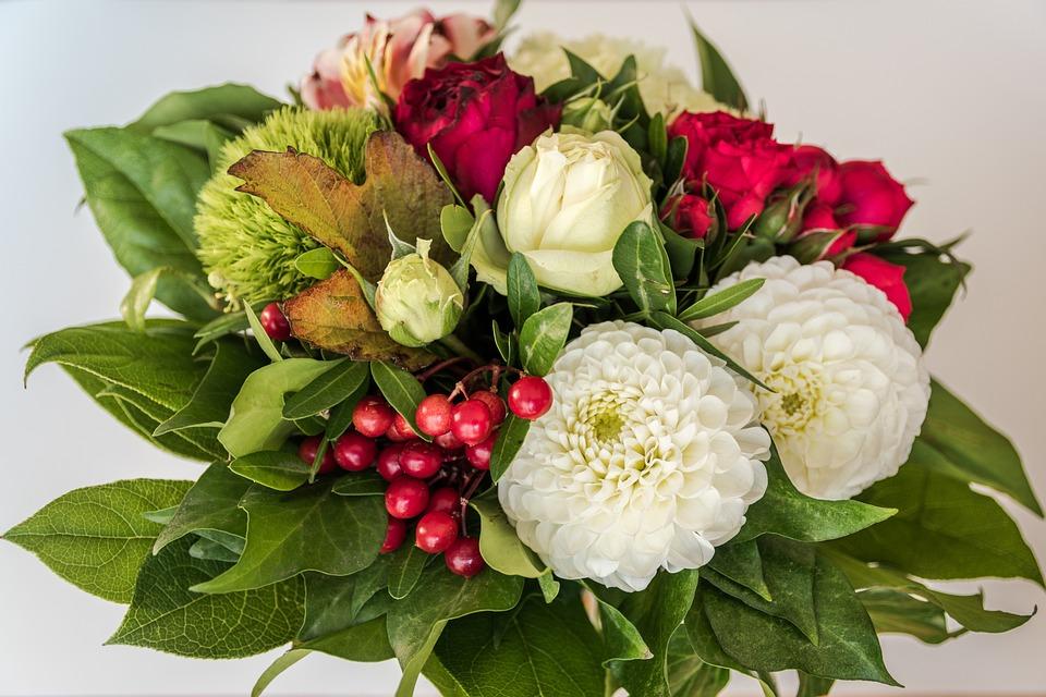 Favoloso Foto gratis: Mazzo, Bouquet Di Compleanno, Fiori - Immagine gratis  NB32