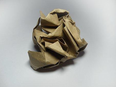 Crumpled Paper, Kraft