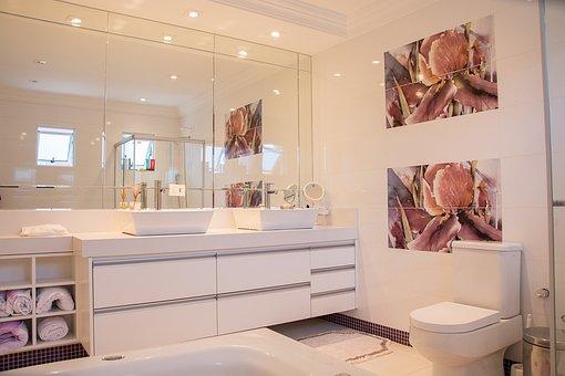 Bathroom, Home, Mirror, Bathroom