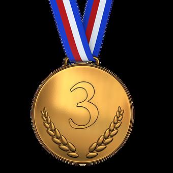 Μετάλλιο, Χάλκινο, Βραβείο, Πρωτάθλημα